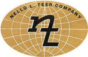 Nello L. Teer Company - Image: Nello L Teer Co Logo