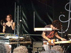 Chillwave - Neon Indian performing in 2010