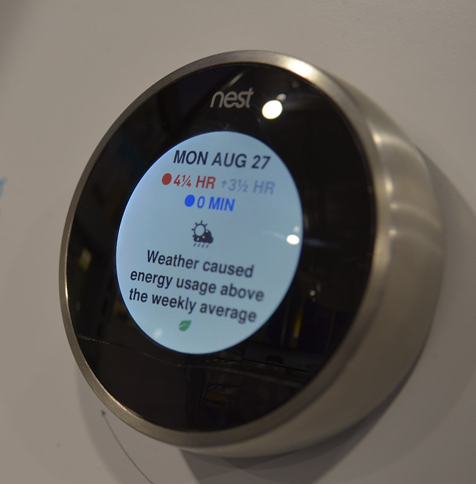 Nest Learning Thermostat (cropped)