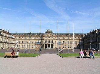 House of Württemberg - Image: Neues Schloss mit Schlossplatz