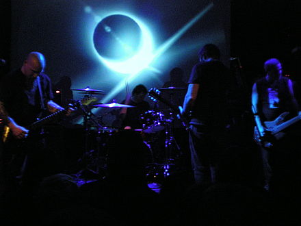 Neurosis have been credited with inventing the genre through their experimental, spiritually intense work. Neurosis 038.jpg