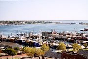 New Bedford, Massachusetts-view of harbor