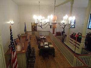New Castle Court House Museum - The Courtroom