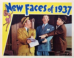New Faces of 1937 - Lobby card to New Faces of 1937