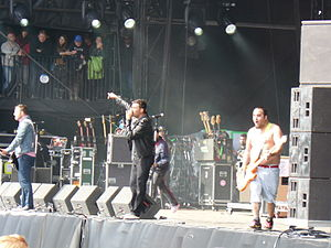 New Found Glory - New Found Glory live at Leeds Festival in 2011