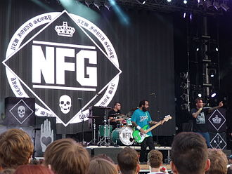 New Found Glory - New Found Glory live at Strand Festival in 2015