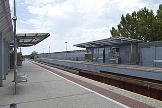 railway station in Adelaide, South Australia