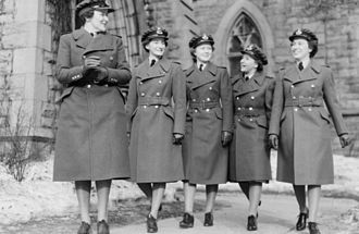 Canadian women in the World Wars - Members of the Royal Canadian Air Force Women's Division, 1941