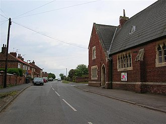 Newton-on-Ouse - Image: Newton upon Ouse geograph.org.uk 186650