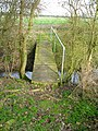 Nice bridge on a nice flat path. - geograph.org.uk - 343180.jpg