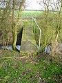 Nice bridge on a nice flat path. - geograph.org.uk - 343180.jpg