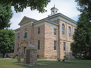 Nicholas County Courthouse in Summersville