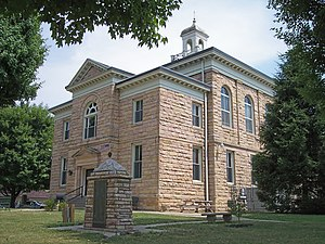 The Nicholas County Courthouse in Summersville in 2007
