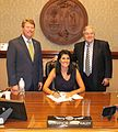 Nikki Haley Ceremonial Bill Signing- SC Founding Principles Act, H.3848 (27465556472).jpg