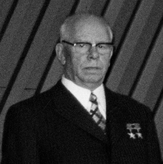 Nikolai Podgorny in 1973