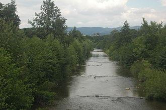 Nitra (river) - Nitra in Prievidza