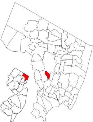 Rochelle Park, New Jersey - Image: Njmap 0254