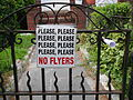 No flyers please.JPG