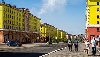 Norilsk - Norilsk Center, Leninsky Prospekt