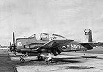 North American T-28BD Trojan of VU-8 in the early 1960s (NNAM.1996.488.162.025).jpg