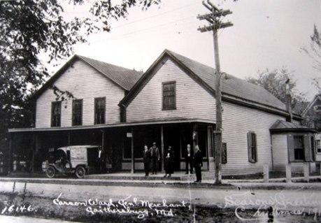 North Frederick Avenue, Gaithersburg, Maryland, 1919