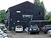 North Middlesex Cricket Club pavilion clubhouse at Crouch End, Haringey, London 1.jpg