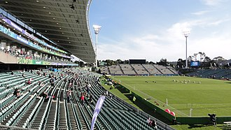 2004 Rugby League Tri-Nations - Image: North harbour stadium