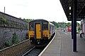 Northern Rail Class 150, 150268, Wigan Wallgate railway station (geograph 4531374).jpg