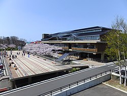 Noshiro City Hall and Sakura Terrace 20170421a.jpg