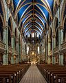 Notre-Dame Cathedral Basilica, Ottawa, Nave view 20170422 1.jpg