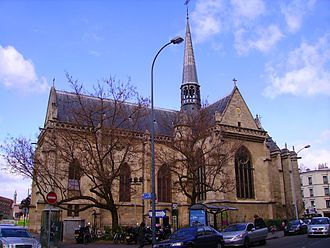 Boulogne-Billancourt - The church of Our Lady of Boulogne-Billancourt