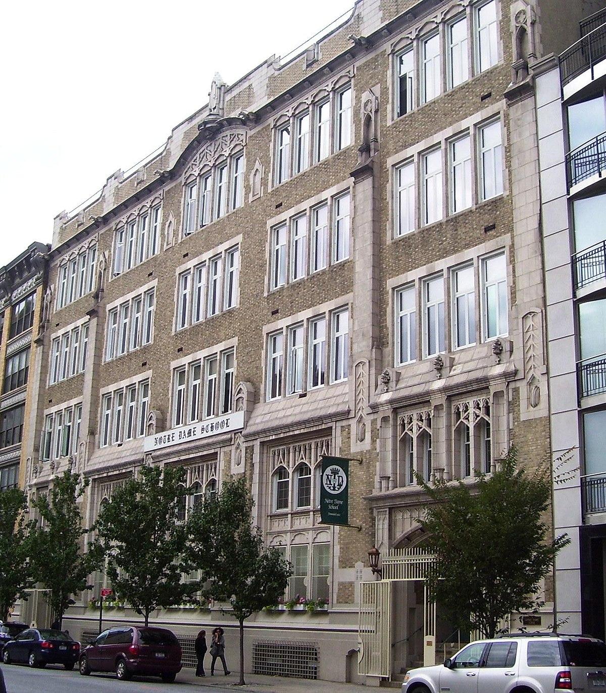 Notre dame school manhattan wikipedia for Design schools nyc