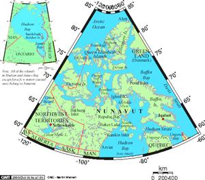 Geography of Nunavut - Nunavut