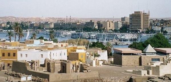Nubian village in Elephantine Island Aswan