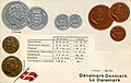 Numismatic postcard from the early 1900's - Denmark.jpg