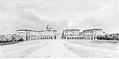 Nuova piazza alla porta di Nizza, Cuneo, 1845.jpg