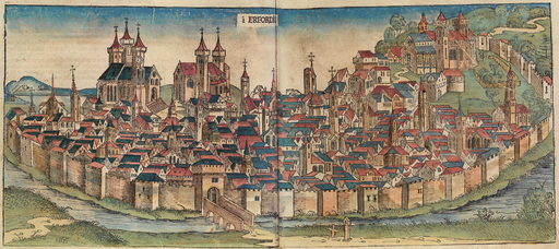 Nuremberg chronicles - ERFORDIA