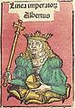 Nuremberg chronicles f 243r 1 Albertus imperator.jpg