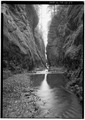 ONEONTA GORGE. - Historic Columbia River Highway, Troutdale, Multnomah County, OR HAER ORE,26-TROUT.V,1-59.tif