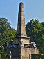 Obeliscul leilor, Grădina Copou.jpg