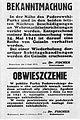 Obwieszczenie Ludwig Fischer 3 czerwca 1941.jpg