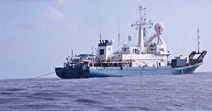 Gardline Group - Image: Ocean endeavour west africa