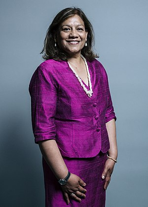 Shadow Leader of the House of Commons - Image: Official portrait of Valerie Vaz (cropped)
