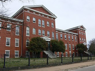 National Register of Historic Places listings in Richmond, Virginia - Image: Old Almshouse, Richmond, Virginia