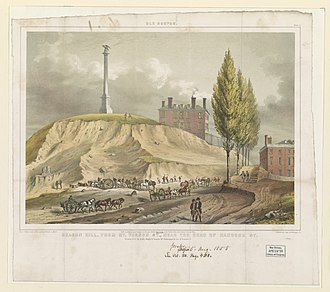 John Rubens Smith - Image: Old Boston. Beacon Hill from Mt. Vernon St., near the head of Hancock St. from a drawing made on the spot by J.R. Smith in 1811, 12 ; J.H. Bufford's Lith. 313 Washington St. LCCN2002725395