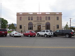 Old Cody Post Office in Cody
