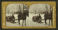 Old Dobbin and the Bobsled. (View of children on a sleigh ride.), from Robert N. Dennis collection of stereoscopic views.png