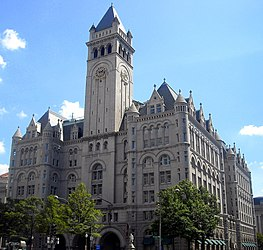 Old Post Office and Clock Tower, Pennsylvania Avenue, Washington, D.C.