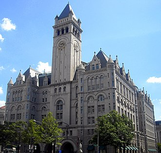 Willoughby J. Edbrooke - Old Post Office Building, Washington, DC (1892-99)