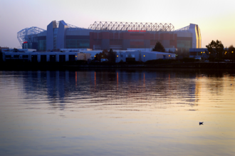 Old Trafford (district) - Old Trafford Football Stadium, home of Manchester United F.C.